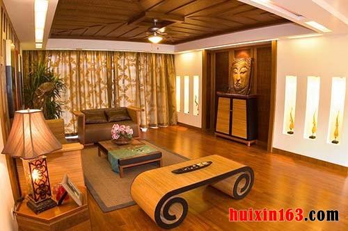 东南亚风格饰品中家具设计的民族特色(3)