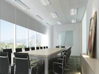 写字楼会议室龙8国际pt老虎机效果图 (3)