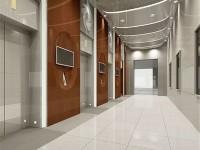 写字楼电梯龙8国际pt老虎机效果图 (3)