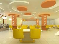 餐厅龙8国际pt老虎机设计效果图 (3)