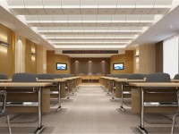 大型会议室装修效果图 (3)
