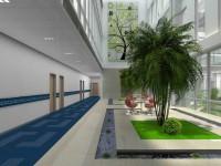 办公楼大厅乐虎国际登陆效果图 (3)