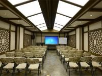 婉约大气会议室龙8国际pt老虎机效果图 (3)