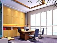 时尚经理办公室龙8国际pt老虎机设计效果图 (3)