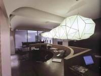 现代办公室龙8国际pt老虎机设计效果图 (3)