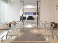 小型办公室会议室装修效果图 (3)