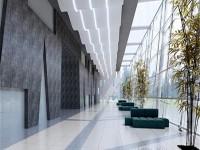办公室公共区域龙8国际pt老虎机设计效果图 (3)