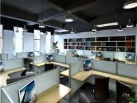 办公室装修设计效果图 (3)