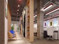 现代时尚办公室装修效果图 (3)