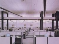 简约办公室龙8国际pt老虎机效果图 (3)