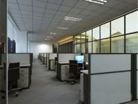 现代时尚办公室龙8国际pt老虎机效果图 (3)