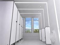 写字楼卫生间装修效果图 (3)