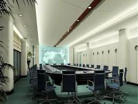 大型会议室龙8国际pt老虎机设计效果图 (3)