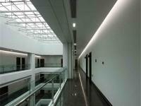办公楼大厅装修设计效果图 (3)