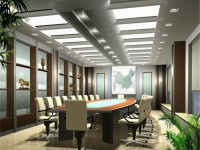 中型会议室龙8国际pt老虎机效果图 (3)