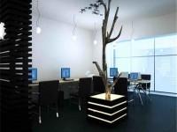 时尚办公室装修效果图 (3)