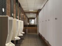 写字楼公共卫生间装修效果图 (3)