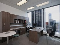 经理办公室龙8国际pt老虎机设计效果图 (3)
