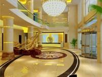 办公楼大厅龙8国际pt老虎机效果图 (3)