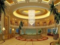 会所大厅龙8国际pt老虎机设计效果图 (3)