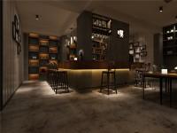 个性咖啡厅装修效果图 (3)