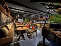温馨咖啡厅装修效果图 (3)