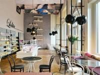 时尚咖啡店效果图 (3)