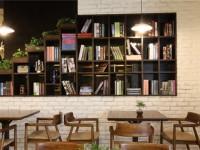 现代时尚咖啡厅装修效果图 (3)