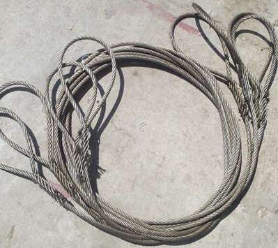 插编钢丝绳扣,钢丝绳插编绳扣