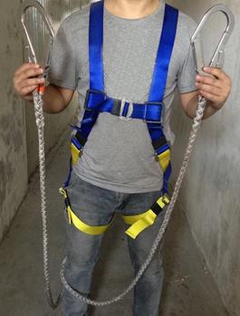 五点式双大钩安全带,双背安全带,高空全身安全带