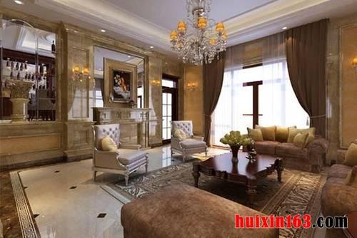 在种类或体系上,欧式古典风格办公室装修装饰等工装,和别墅装修装饰