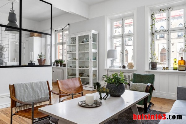 北欧风格室内装修装饰结构和色彩设计(1)
