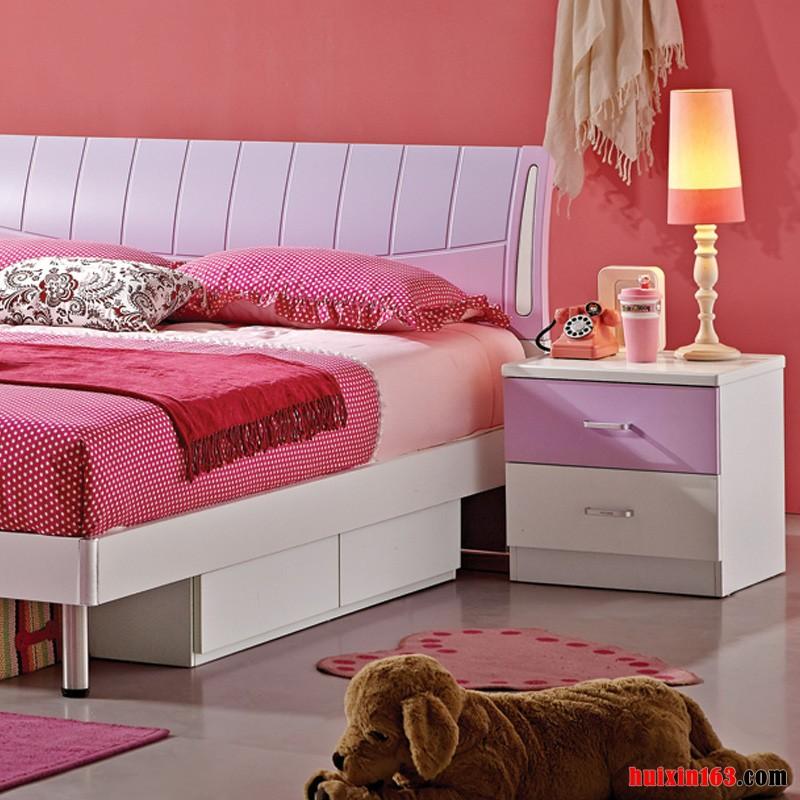 4 现代简约风格粉色卧室装修装饰