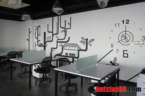 3 办公室手绘墙