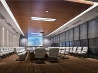 高端视频会议室装修装饰 (2)