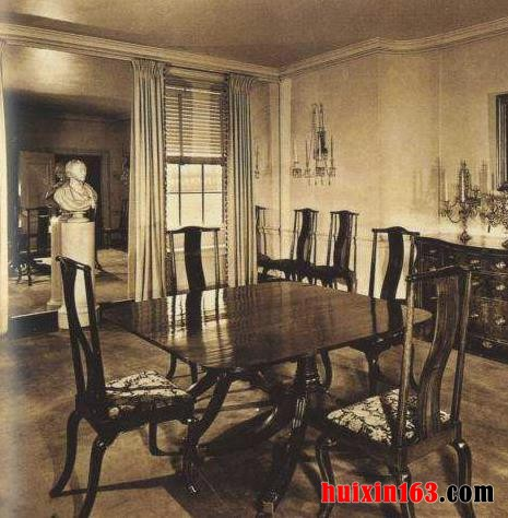 1 室内装饰路易十六的暗黑与舒适