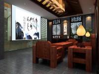风韵十足的中式茶室 (5)