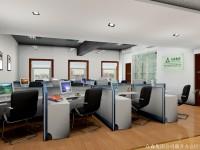 一套木色为主的明亮办公室龙8国际pt老虎机 (3)