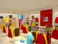 简约型服装店铺装修 (7)